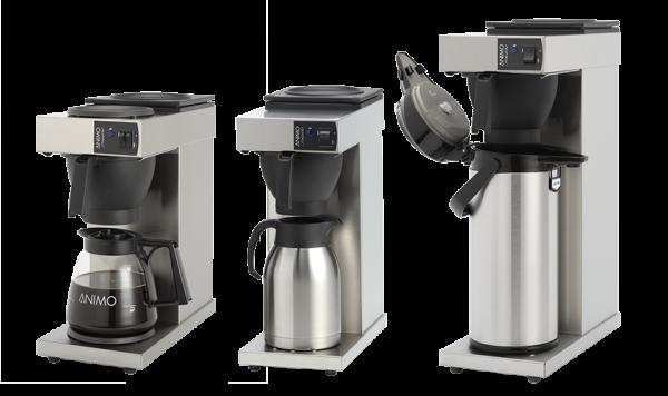 Các dòng sản phẩm của máy pha cà phê Animo Excelso