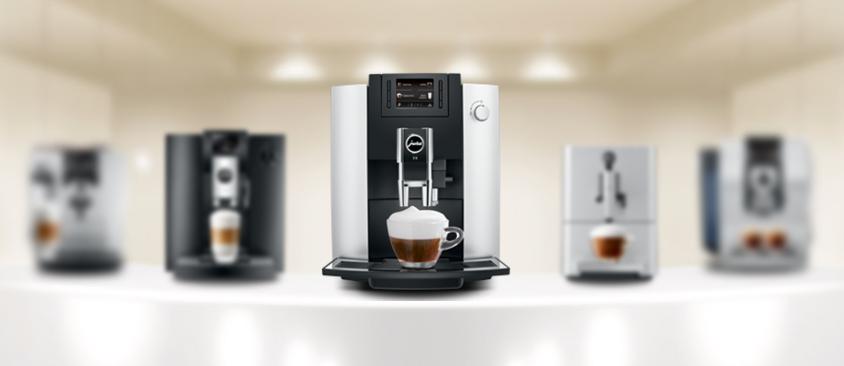 Jura đa dạng sản phẩm máy pha cà phê tự động