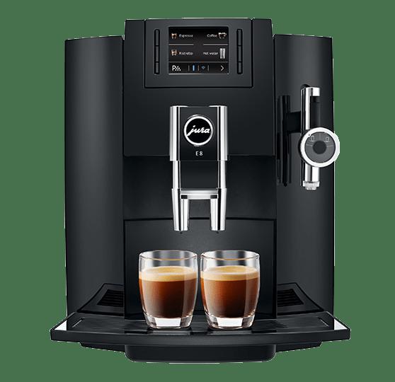 Máy pha cafe gia đình tự động Jura E8