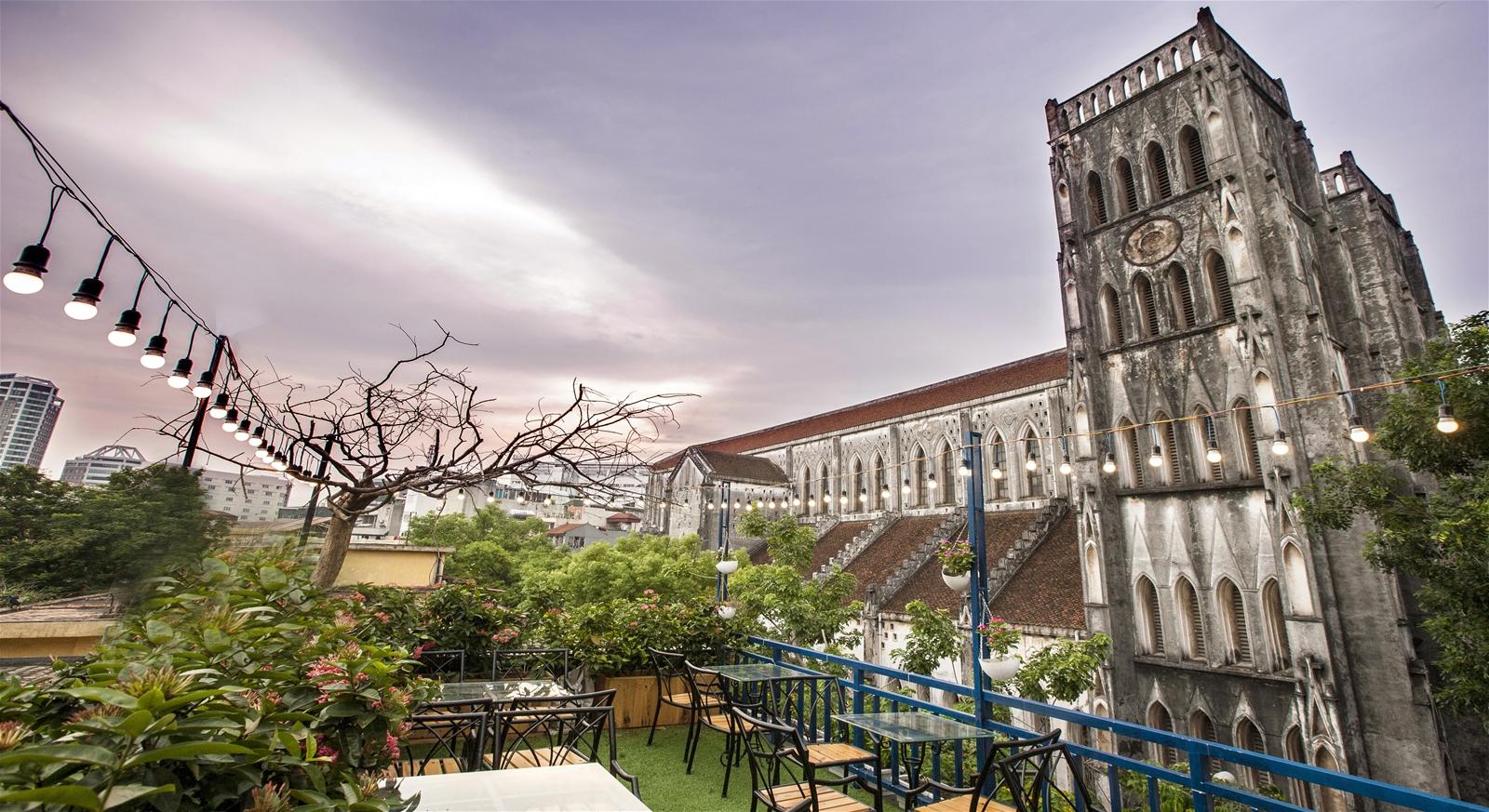 Top những quán cà phê đẹp nhất Hà Nội