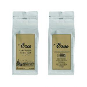 Cà phê hạt Eros Coffee Vietnam Arabica Blend