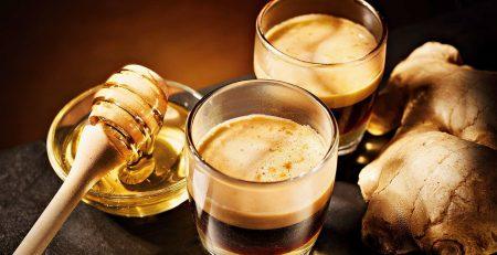 Espresso mật ong gừng