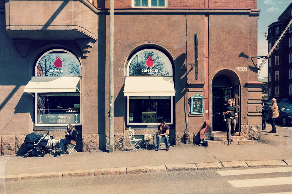 Quán cà phê ở Helsinki (Phần Lan)