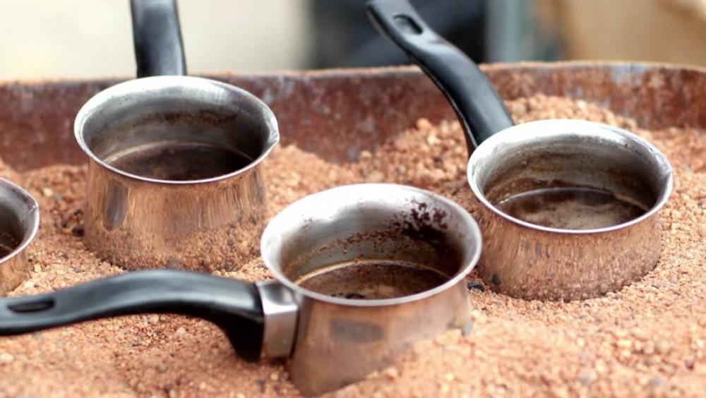 cà phê cát
