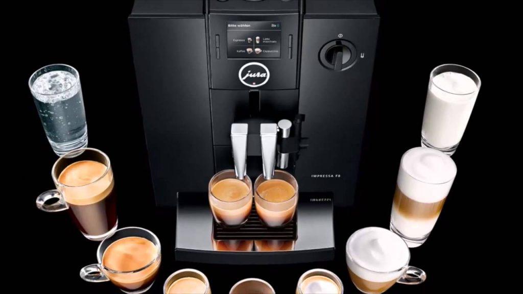 pha cà phê bằng máy