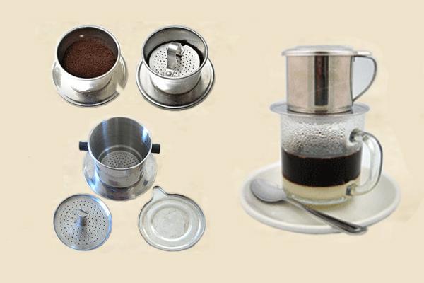 Pha cà phê bằng phin