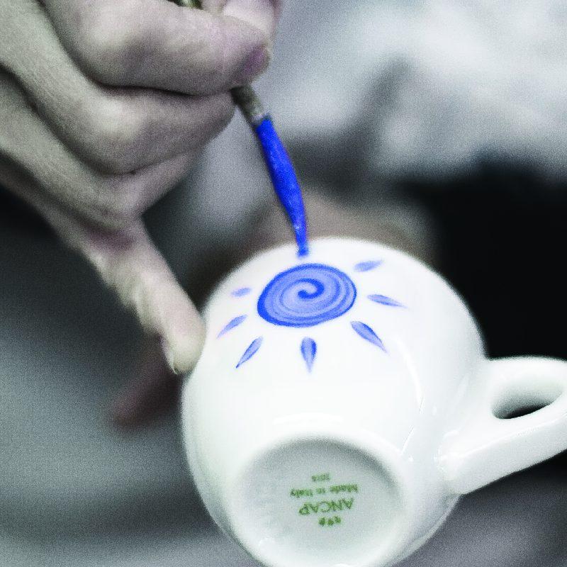 Ly sứ cà phê