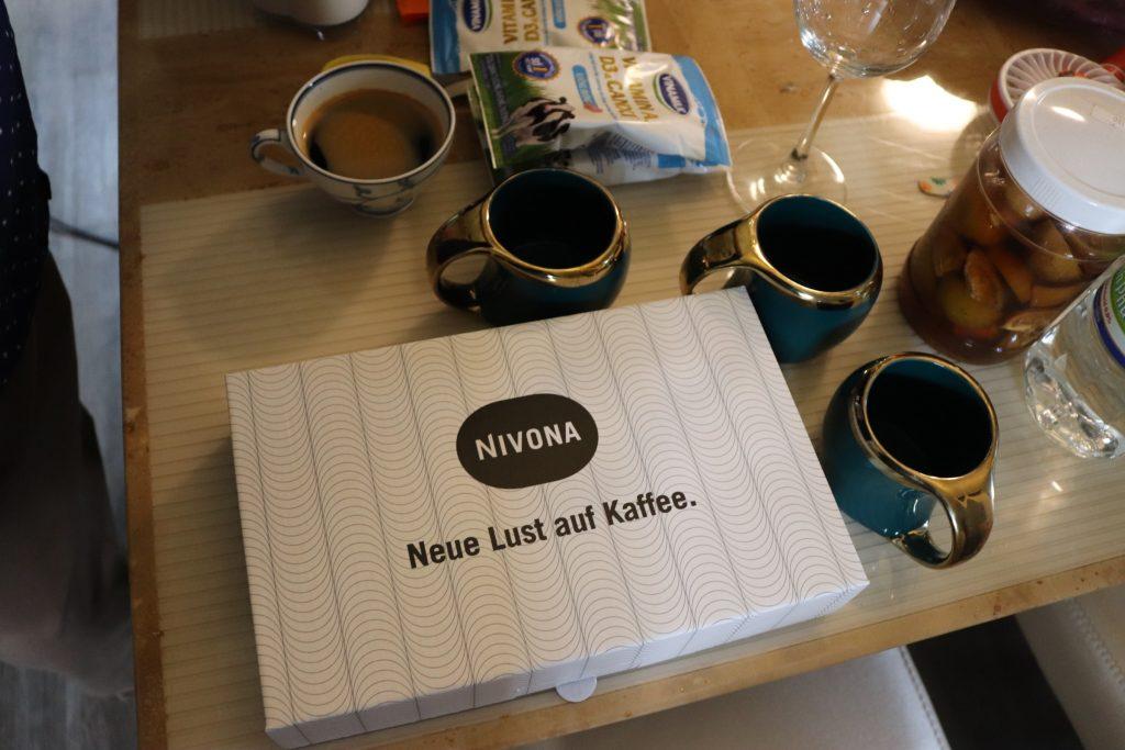 Bộ phụ kiện đi kèm máy pha cà phê tự động Nivona 520