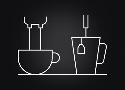 WMF ESPRESSO pha chế cà phê và nước nóng song song