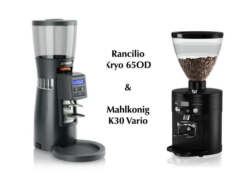Lựa chọn máy pha cafe Rancilio Kryo hay là Mahlkonig Vario